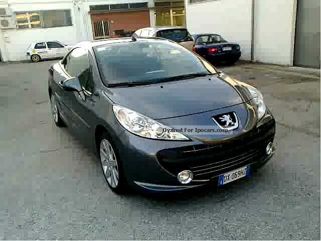 2009 peugeot 207 1 6 hdi 110cv cc f line car photo and specs