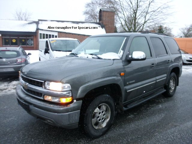 2002 Chevrolet  Tahoe LT Off-road Vehicle/Pickup Truck Used vehicle(business photo