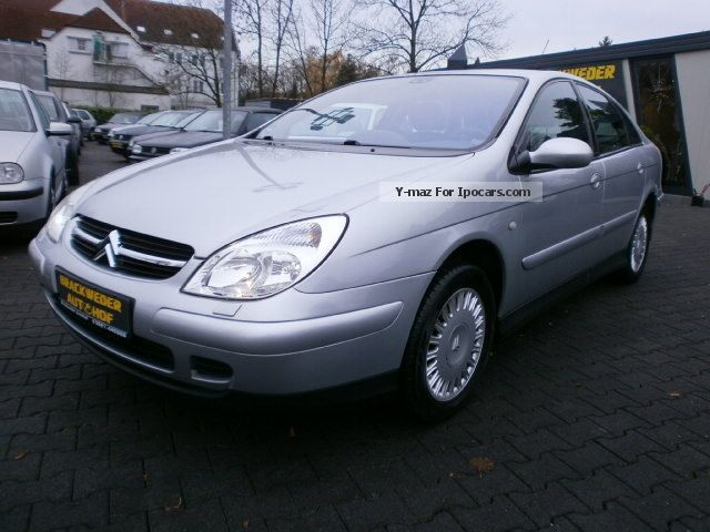 2002 citroen c5 2 2 hdi exclusive xenon navi car photo and specs. Black Bedroom Furniture Sets. Home Design Ideas