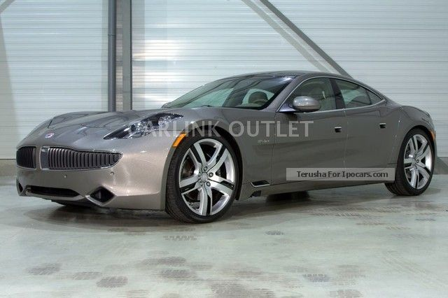 Fisker  Karma Ecochic-NOW-2350 KM-MINT 2012 Hybrid Cars photo