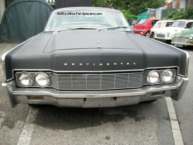 Lincoln  Continental 1968 Vintage, Classic and Old Cars photo