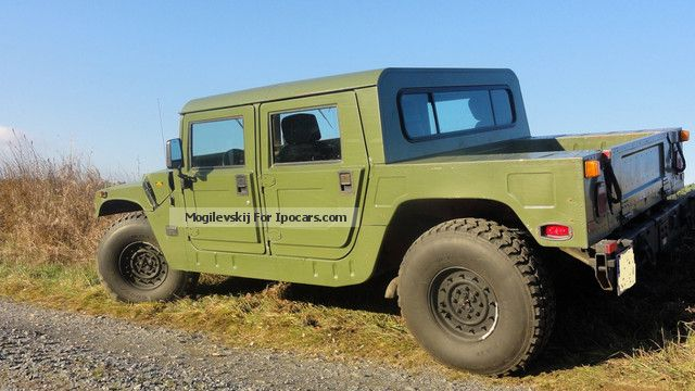 1994 Hummer H1 Sut Limited Edition Off Road Vehicle Pickup Truck
