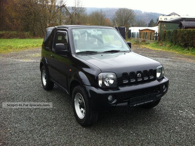 2004 suzuki jimny cabrio free abs 4x4 car photo and specs. Black Bedroom Furniture Sets. Home Design Ideas