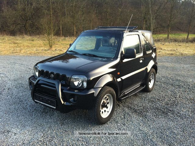 2004 suzuki jimny cabrio club rock am ring 4wd car photo and specs. Black Bedroom Furniture Sets. Home Design Ideas