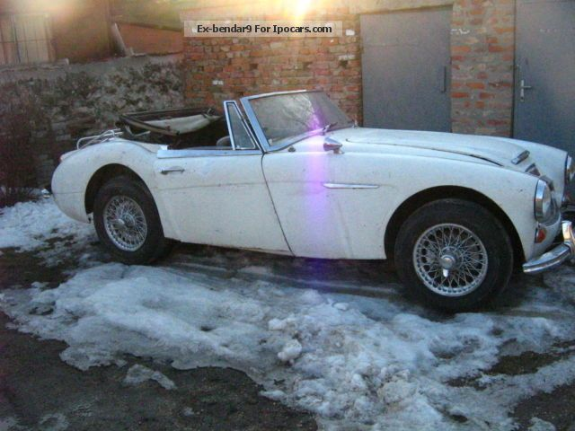 Austin Healey  MK3 BJ8, completely restored! 1966 Vintage, Classic and Old Cars photo