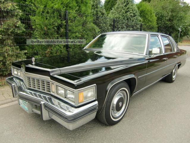 Cadillac  Fleetwood Extreme luxury full facilities 1977 Vintage, Classic and Old Cars photo