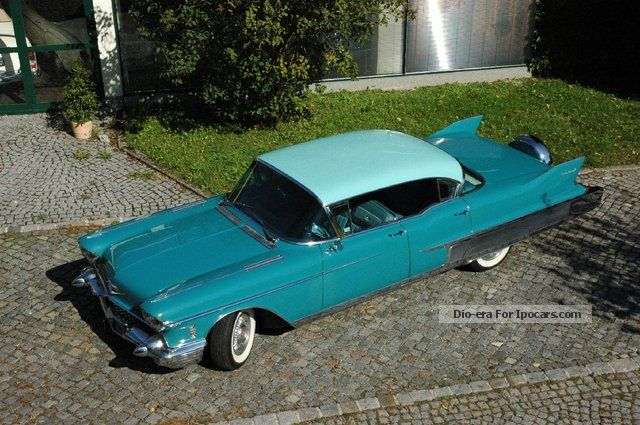 Cadillac  Fleetwood Sixty Special * Continental Kit * 1958 Vintage, Classic and Old Cars photo