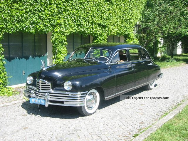 Cadillac  Packard 22nd 7 Passenger Sedan 1948 Vintage, Classic and Old Cars photo