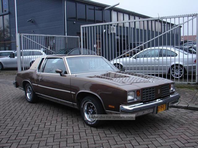 1979 Oldsmobile  Cutlass 5.0 V8 Wegenbelastingvrij in Nieuwstaat Saloon Used vehicle photo