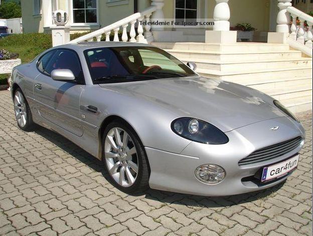 2004 Aston Martin Db7 Vantage Coupe Car Photo And Specs