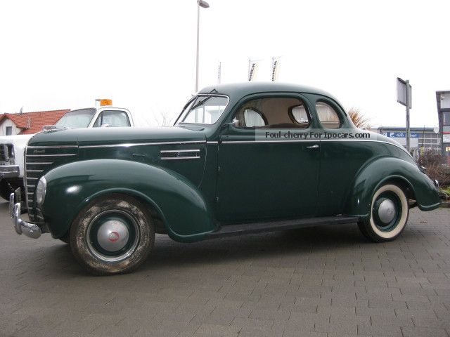 Plymouth  38er Business Coupe 1938 Vintage, Classic and Old Cars photo