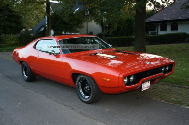 1972 Plymouth  Roadrunner Sports Car/Coupe Used vehicle photo