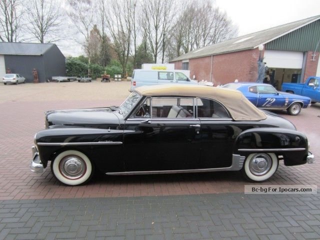 1950 plymouth special deluxe specs