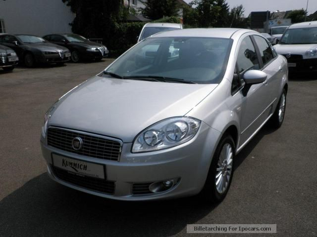 2008 Fiat  Linea Dynamic 1.4 8V Saloon Demonstration Vehicle photo