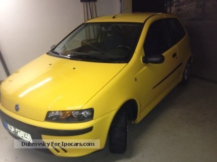 2003 Fiat  Punto sporting 6 speed Saloon Used vehicle photo