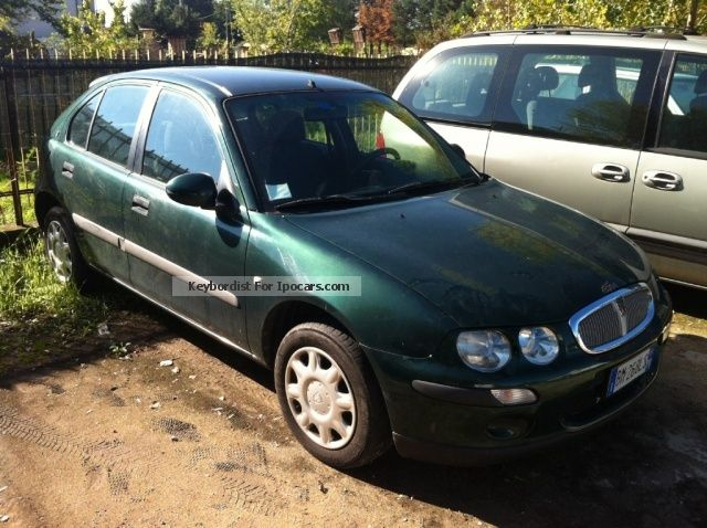 2000 rover 25 1 4 103cv 5 porte classic car photo and specs for Porte saloon