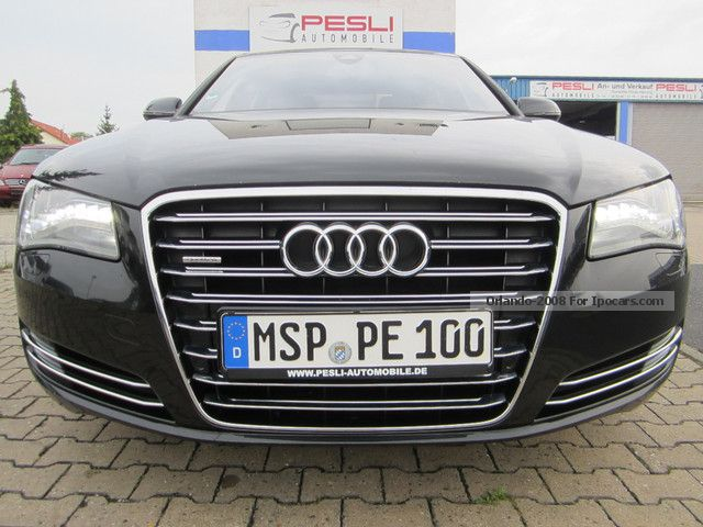 2010 Audi  A8 4.2 TDI DPF Vollausstatung LED Illuminators Saloon Used vehicle photo