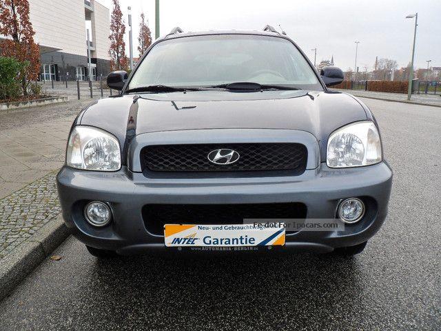 2012 Hyundai  Santa Fe Diesel 2.0 CRDI GLS / / wheel / / leather / / Van / Minibus Used vehicle photo