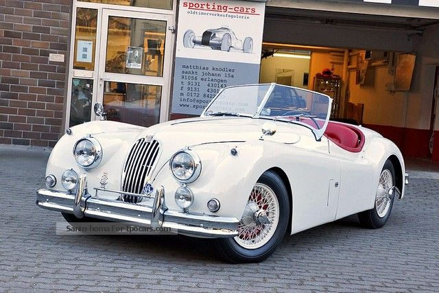 Jaguar  XK 140 OTS Roadster, excellent! 1954 Vintage, Classic and Old Cars photo