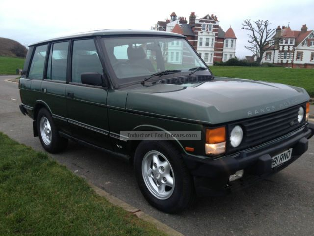 1994 Land Rover  Range Rover Vogue SE Off-road Vehicle/Pickup Truck Used vehicle photo