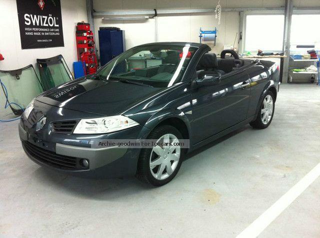 2007 Renault  Megane Cabrio * TÜV / AU incl NEW * 24 mon warranty * Cabriolet / Roadster Used vehicle photo