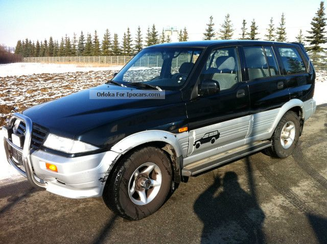 1999 Daewoo Musso 4x4 - Car Photo and Specs