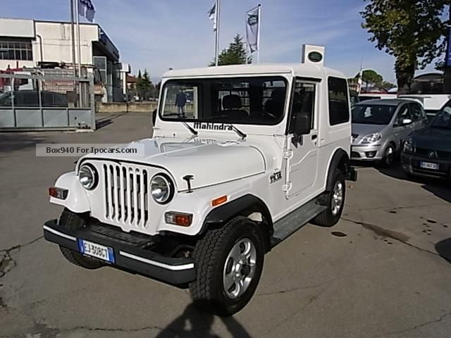 2011 Mahindra  2500 Jeep Thar CRDE Off-road Vehicle/Pickup Truck Used vehicle photo