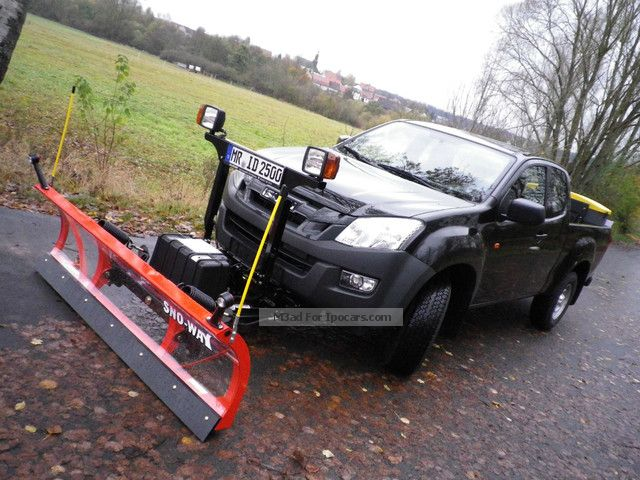 2012 Isuzu D Max 4x4 Single Cab Winter Service Immediately