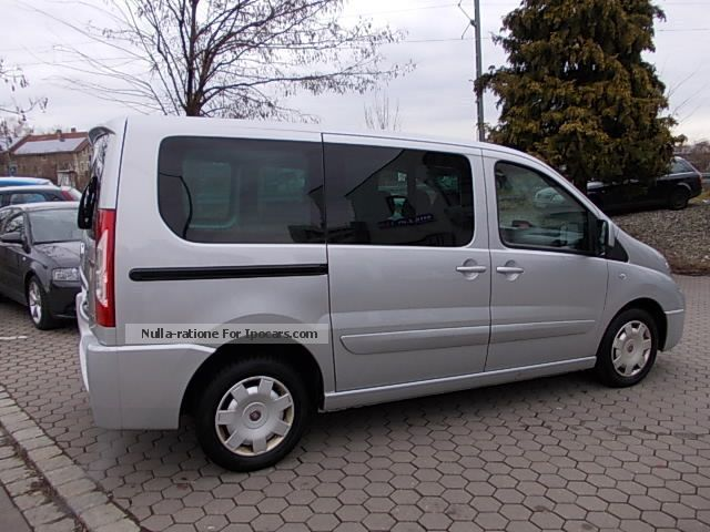 2007 fiat scudo panorama executive air mod 2008 euro 4 car photo and specs. Black Bedroom Furniture Sets. Home Design Ideas