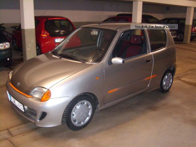 1999 Fiat  Seicento Sporting 1.1 EXCELLENT CONDITION Sportpake Small Car Used vehicle photo