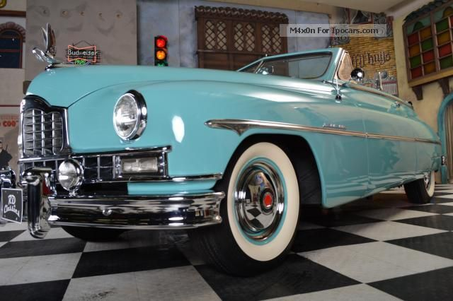 2013 Cadillac Cts Coupe >> 1950 Cadillac Packard Super Deluxe Convertible - Car Photo and Specs