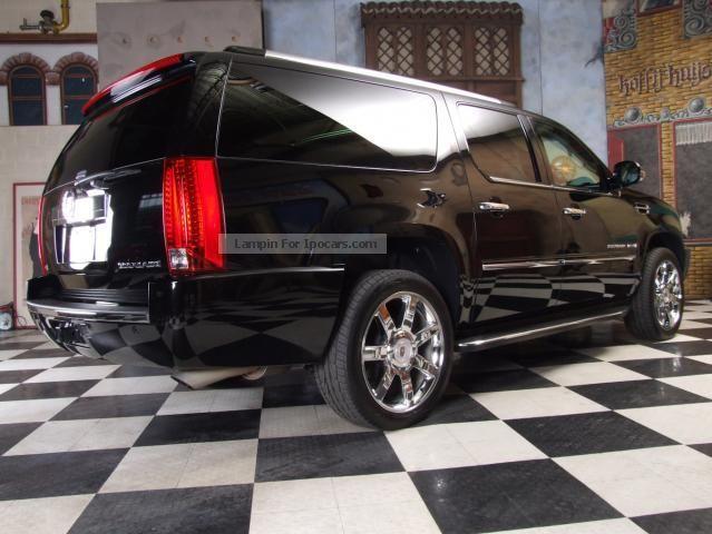 2009 Cadillac Escalade ESV 4x4 Flex Fuel Car Photo And Specs