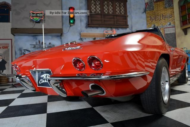 1964 Corvette  C2 Convertible L76 engine 365 hp Cabriolet / Roadster Classic Vehicle photo