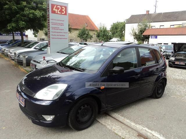 2004 Ford  Fiesta 1.6 * Wolf * spoiler sunroof * EURO 4 Small Car Used vehicle photo