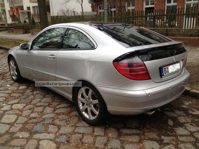 2001 mercedes benz cl 230 kompressor sport coupe evolution