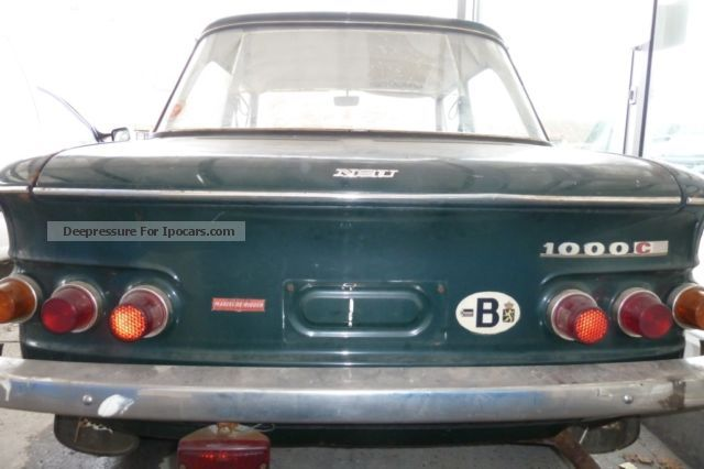 1972 NSU  1000C Estate Car Used vehicle photo