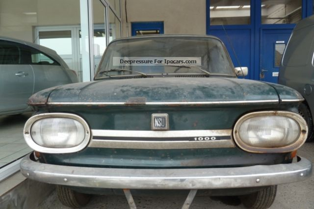 1972 NSU 1000C - Car Photo and Specs