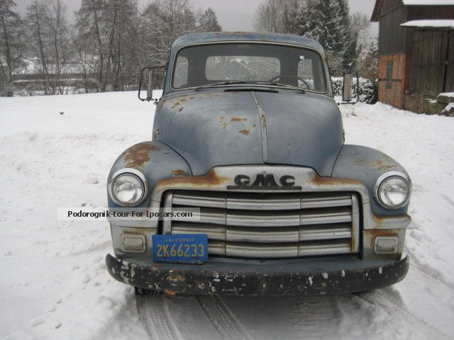 GMC  PICK UP 100 1/2 ton truck 1954 Vintage, Classic and Old Cars photo