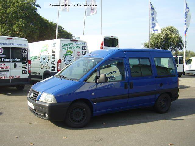 2004 Fiat  Scudo SX 16 V 222.1R5.1 Estate Car Used vehicle photo