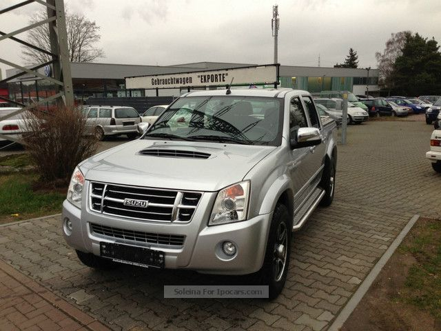 2011 Isuzu  D-Max 4x4 Double Cab AUTM. Custom * AHK * ALU * Navi * Off-road Vehicle/Pickup Truck Used vehicle photo