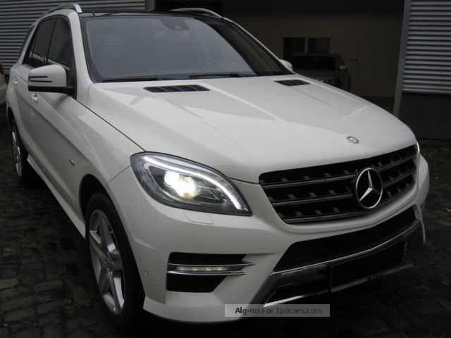 2012 mercedes benz ml 350 bluetec 4matic 7g amg pano beige. Black Bedroom Furniture Sets. Home Design Ideas
