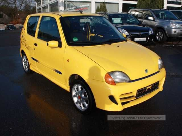 1998 Abarth  Seicento 1.1 Sporting Abarth aluminum / RCD / efh Saloon Used vehicle photo
