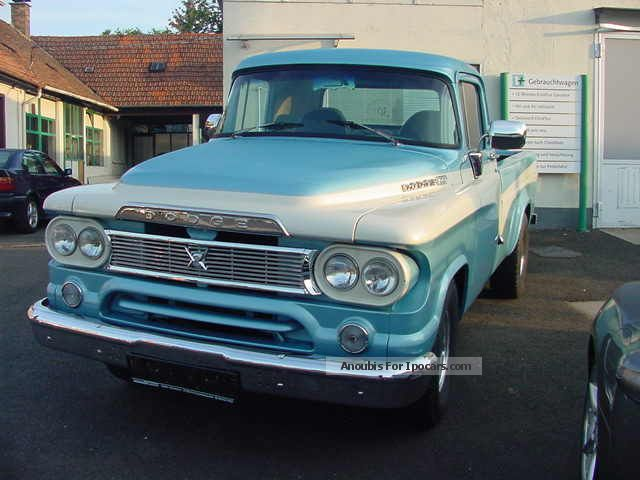 Dodge  DODGE D100 PICKUP WINTER PRICE 1960 Vintage, Classic and Old Cars photo