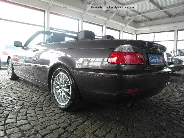 2004 bmw 318 ci scheckheftgepflegt air conditioning. Black Bedroom Furniture Sets. Home Design Ideas