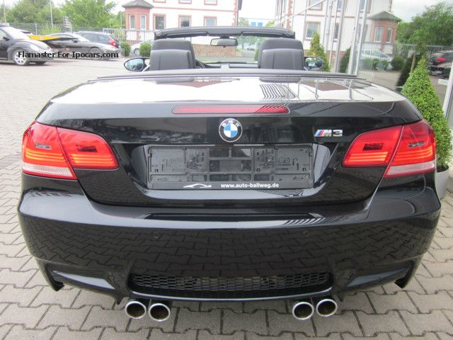 2008 BMW M3 Convertible 6-speed ~ ~ D.Fzg. 19inch ~ ~ TOP ...