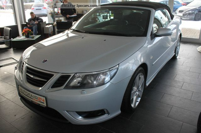2008 Saab  9-3 2.8 Turbo V6 Convertible Aero Led / Sitzh. / Xe. / Navi Cabriolet / Roadster Used vehicle photo