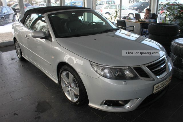 2008 saab 9 3 2 8 turbo v6 convertible aero led sitzh. Black Bedroom Furniture Sets. Home Design Ideas