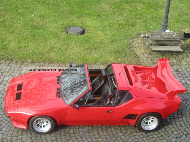1988 DeTomaso  Pantera GT5 S TARGA 24,600 KM, 1.Hand! Cabriolet / Roadster Used vehicle photo