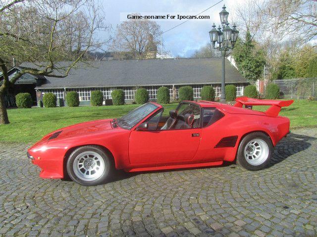 Detomaso Pantera Gt S Targa Km Hand Lgw on Alfa Romeo Spider 1988