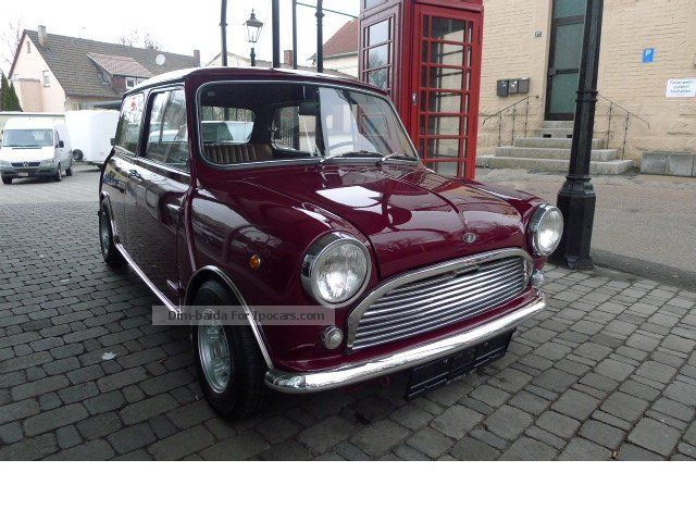 Austin  Innocenti Mini 850 MK II 1969 Vintage, Classic and Old Cars photo